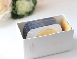 A Recent Blogger Review of Adore Cosmetics Golden Touch 24K Techno-Dermis Eye Mask