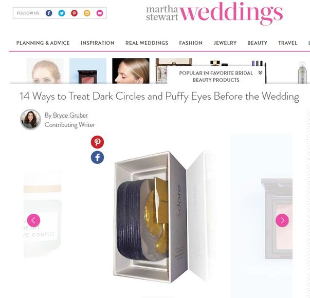 Adore Cosmetics Martha Stewart Weddings