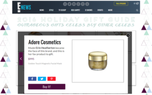 Adore Cosmetics in the News: December Roundup