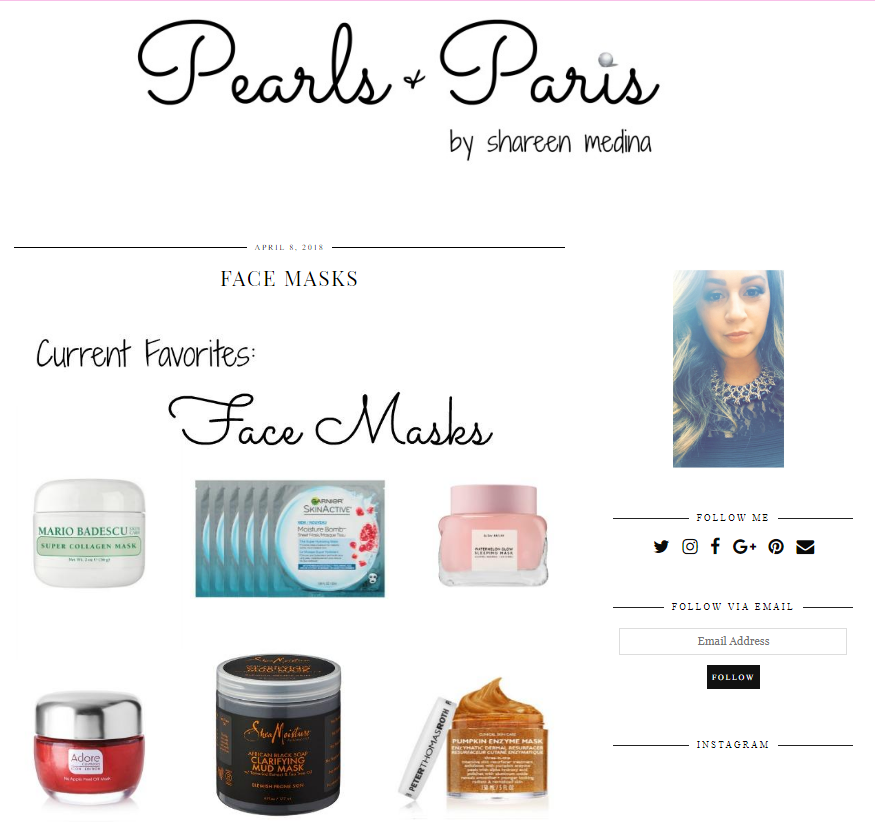 April 2018 Adore Cosmetics News Roundup Pearls and Paris